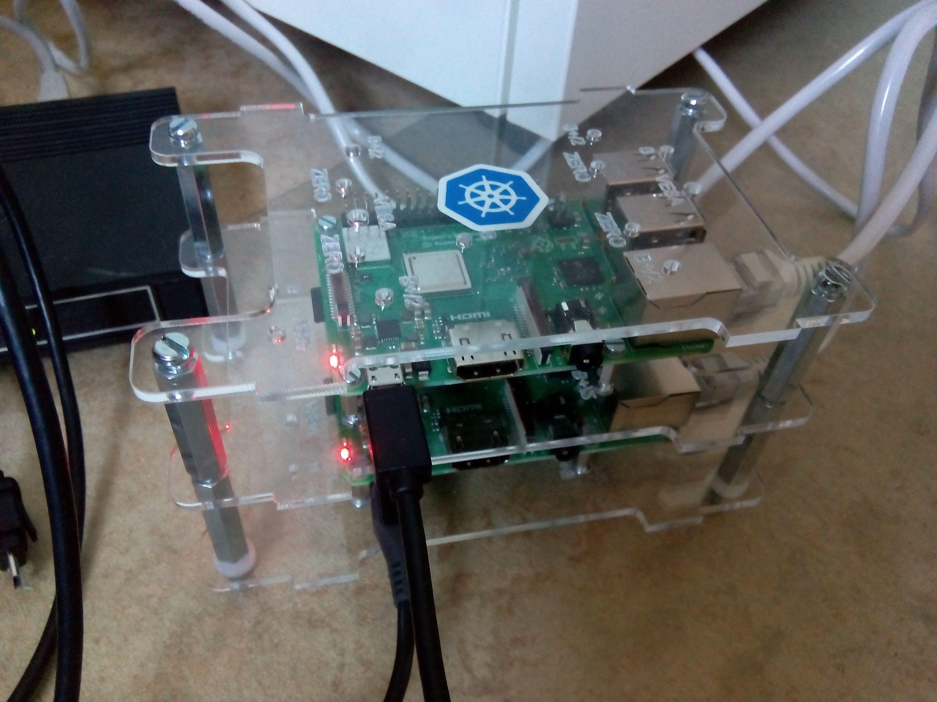 Raspberry Pi-kluster
